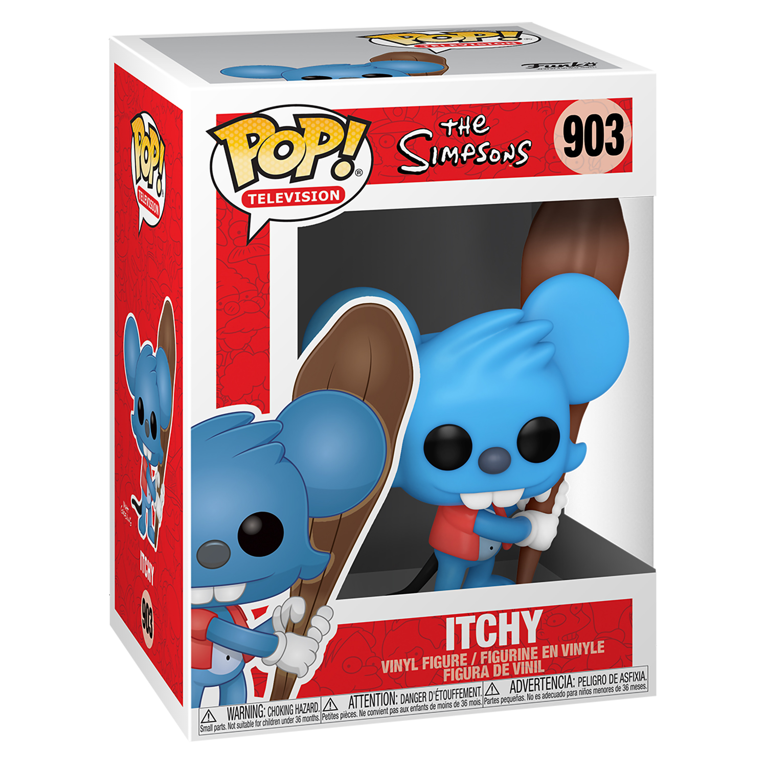 Фигурка Funko POP! Vinyl: Simpsons: Itchy 52958