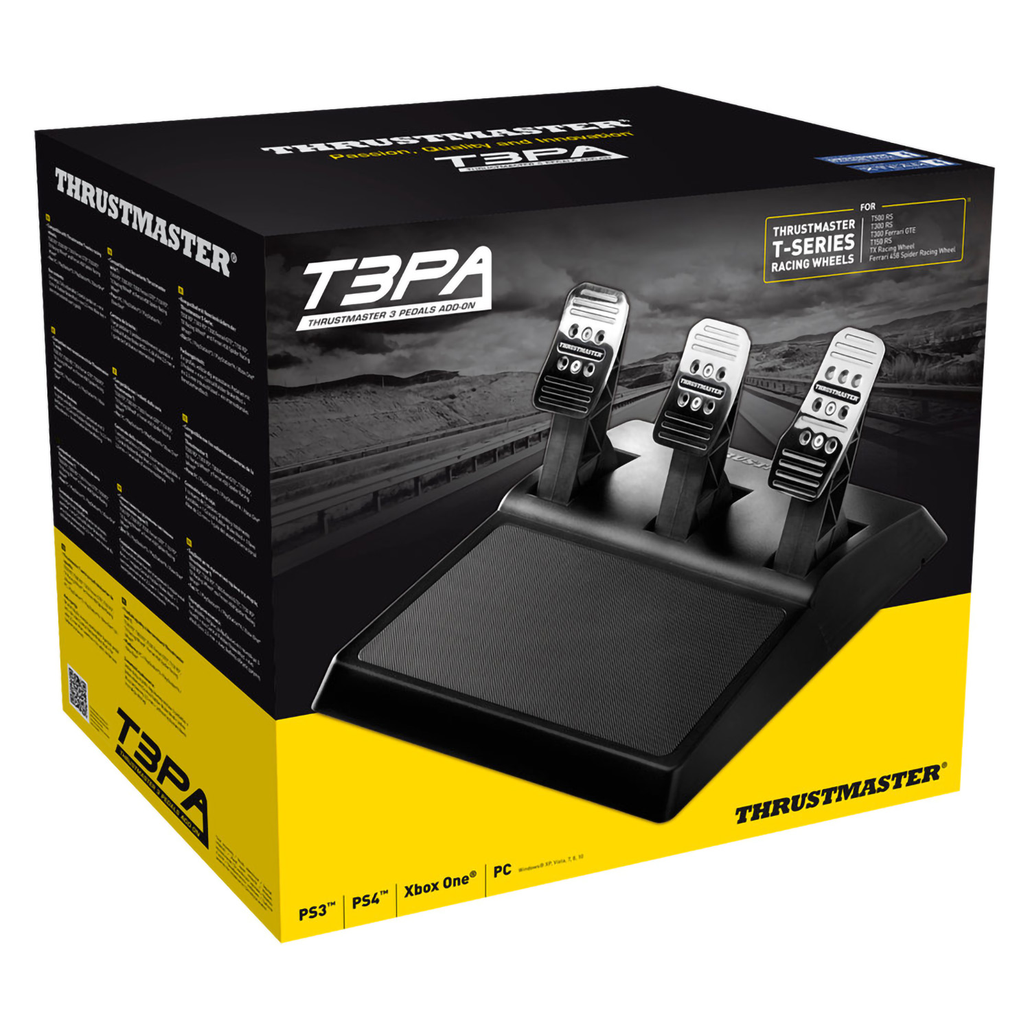 Педали Thrustmaster T3PA, 3 Pedals Add On, PS3/PS4/PC/XboxOne