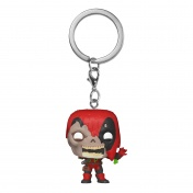 Брелок Funko Pocket POP! Keychain: Marvel Zombies: Deadpool 49131-PDQ