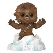 Фигурка Funko POP! Deluxe Bobble Star Wars Chewbacca Battle at Echo Base (FL) (Exc) 49755