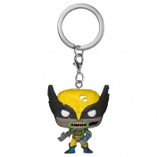 Брелок Funko Pocket POP! Keychain: Marvel Zombies: Wolverine 49133-PDQ