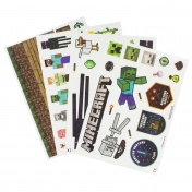 Наклейки Minecraft Gadget Decals PP7302MCF