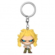 Брелок Funko Pocket POP! Keychain: My Hero Academia: All Might (True Form) (48652) 48176-PDQ