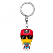 Брелок Funko Pocket POP! Keychain: Simpsons: Duffman (54402) 53762-PDQ
