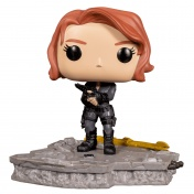 Фигурка Funko POP! Deluxe Bobble Marvel Avengers Black Widow (Assemble) (Exc) 45075