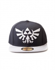 Бейсболка Difuzed: Zelda Twilight Princess Cap with Grey Triforce Logo BA180123NTN
