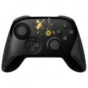 Nintendo Switch Геймпад Hori Wireless Horipad (Pikachu Black & Gold) для консоли Switch (NSW-293U)