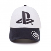 Бейсболка Difuzed: Playstation: Logo Seamless Curved Bill Cap TC387805SNY