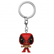 Брелок Funko Pocket POP! Keychain: Marvel: Luchadores: Deadpool 53897-PDQ