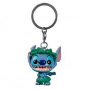 Брелок Funko Pocket POP! Keychain Disney Lilo & Stitch Stitch In Hula Skirt (Exc) 38331